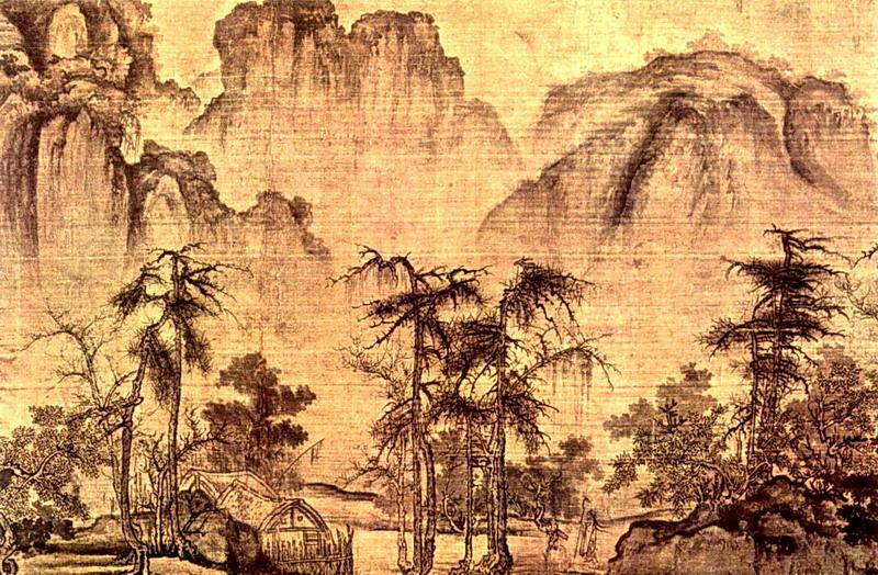 Китайская живопись. Го Си.